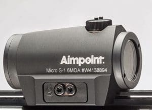 Aimpoint Micro S1 mount screw plate
